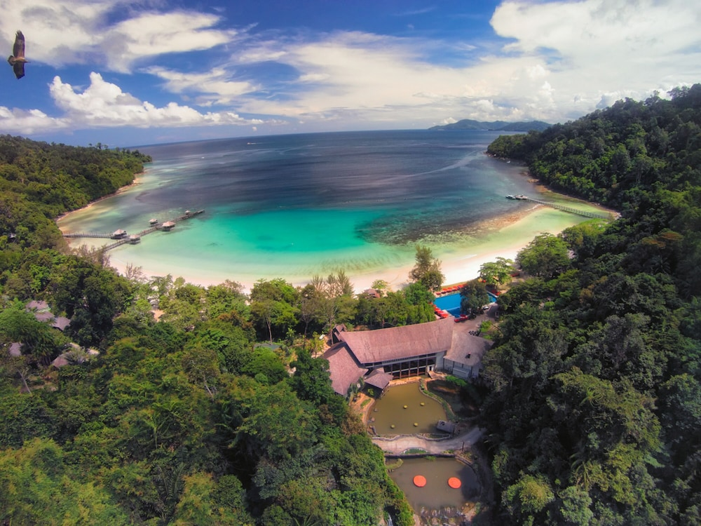 Aerial View, Bunga Raya Island Resort & Spa