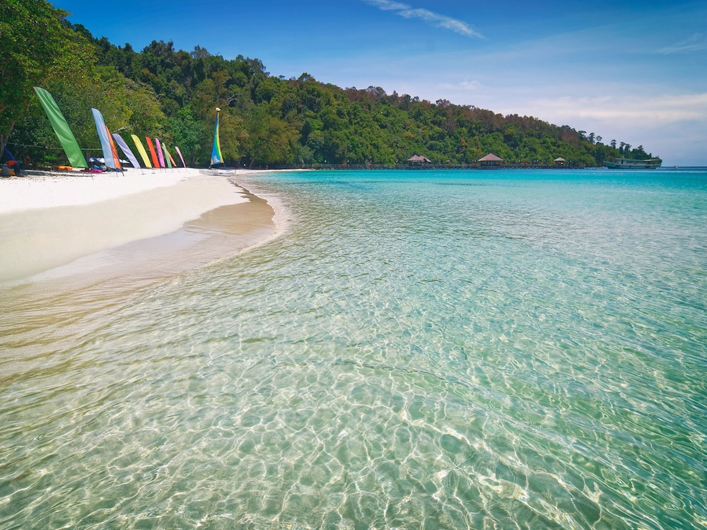 Beach, Bunga Raya Island Resort & Spa