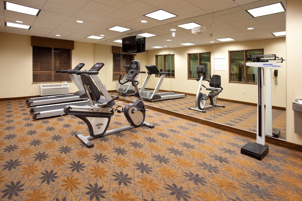 Fitness Facility, Holiday Inn Express Hotel & Suites LAMAR, an IHG Hotel