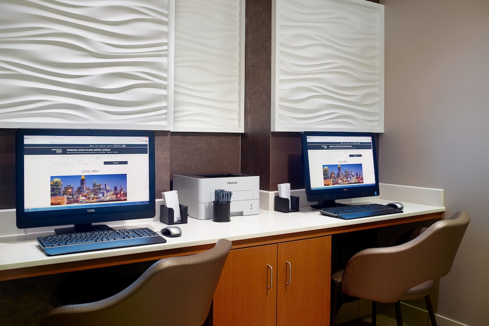 Business Center, SpringHill Suites by Marriott Atlanta Airport Gateway