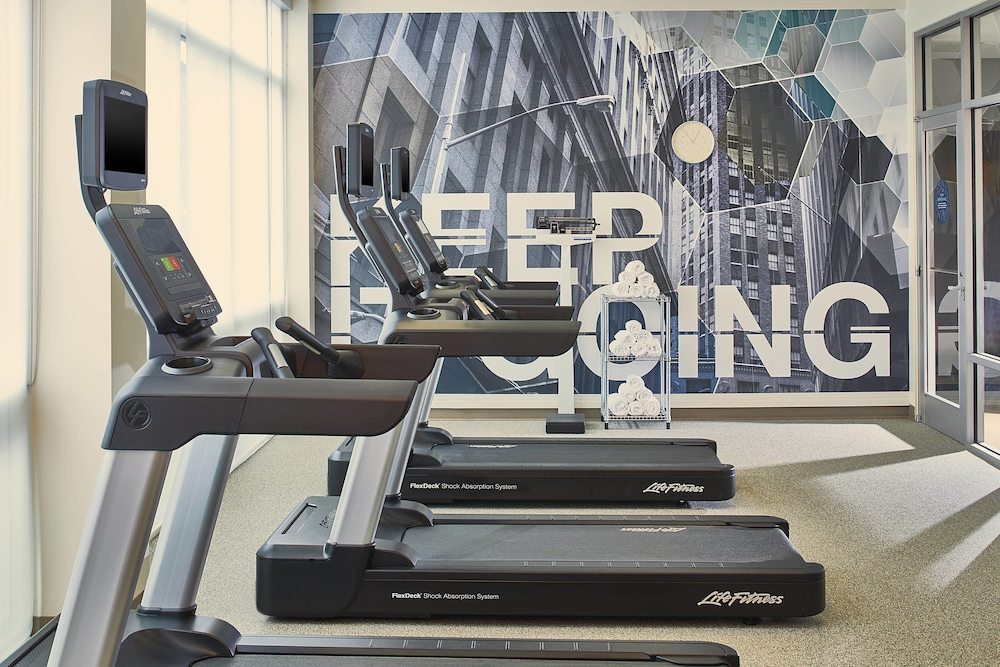 Gym, SpringHill Suites by Marriott Atlanta Airport Gateway