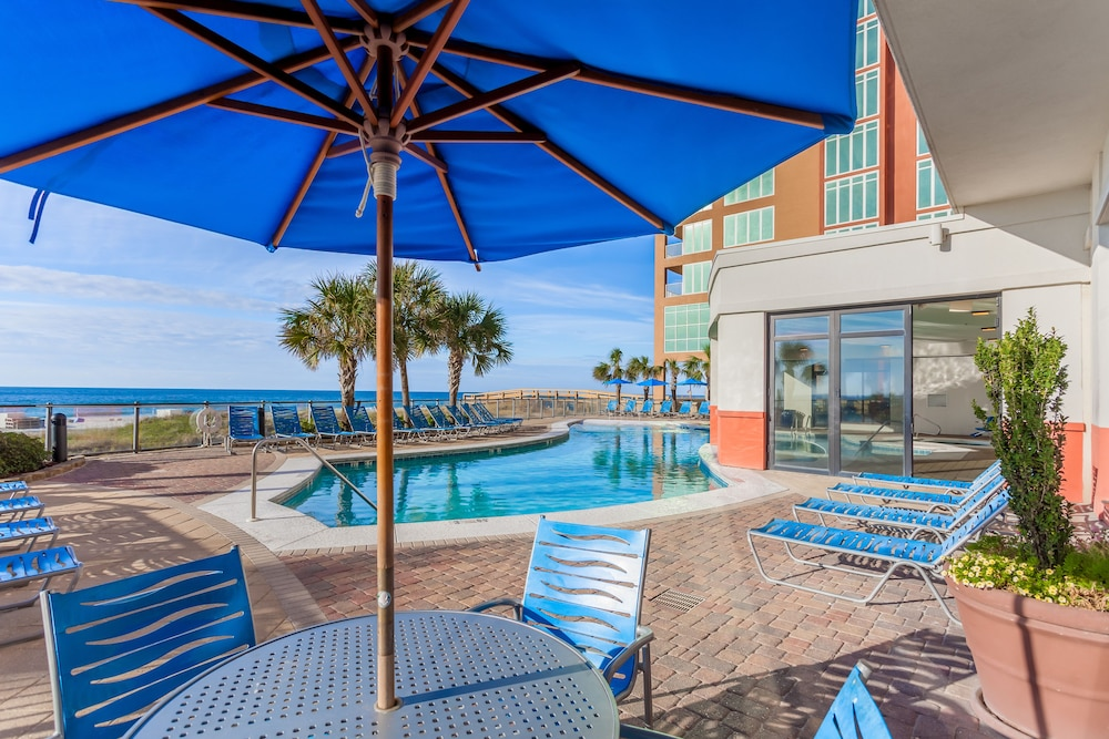 Terrace/Patio, Hampton Inn & Suites Orange Beach/Gulf Front