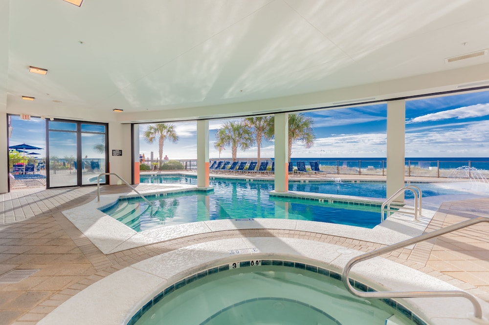 Indoor/Outdoor Pool, Hampton Inn & Suites Orange Beach/Gulf Front