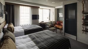 設計每間自成一格、家具佈置各有特色、熨斗/熨衫板、免費 Wi-Fi