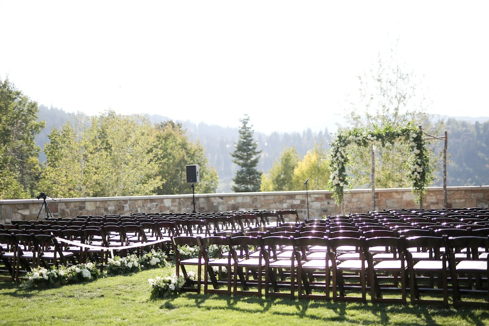 Outdoor Wedding Area, The St. Regis Deer Valley