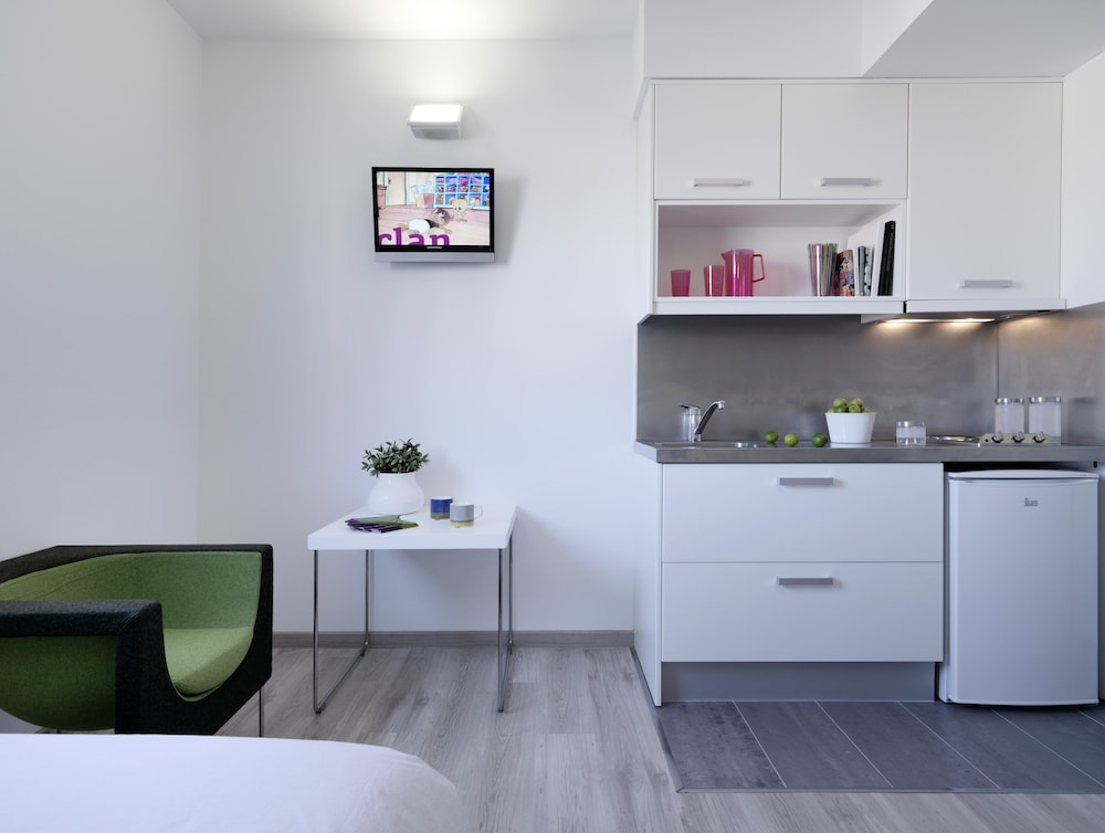 Private Kitchenette, Residencia Melondistrict Marina