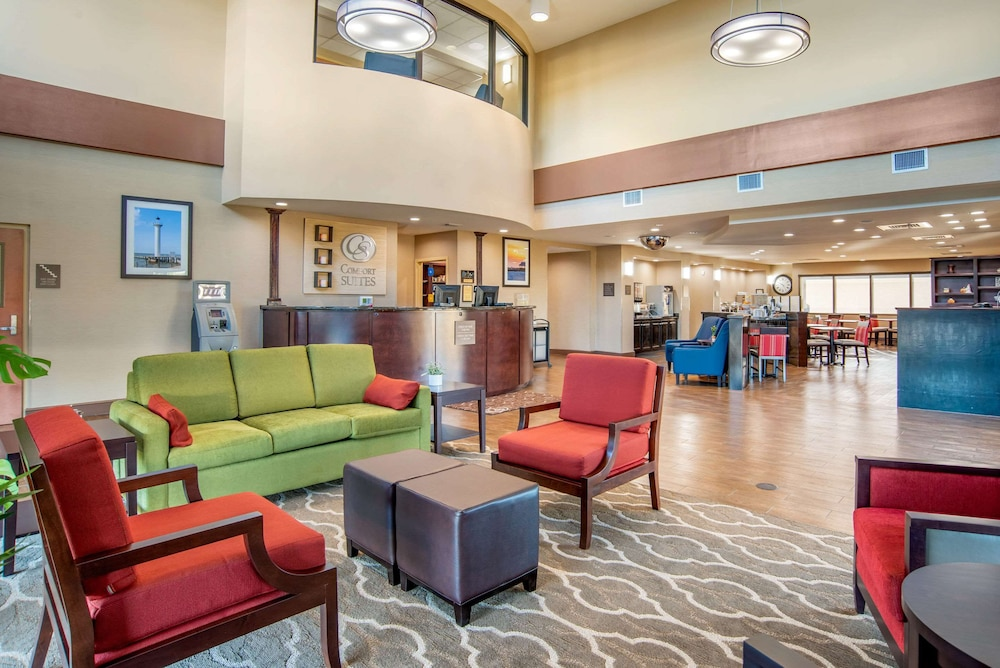 Lobby, Comfort Suites Gulfport