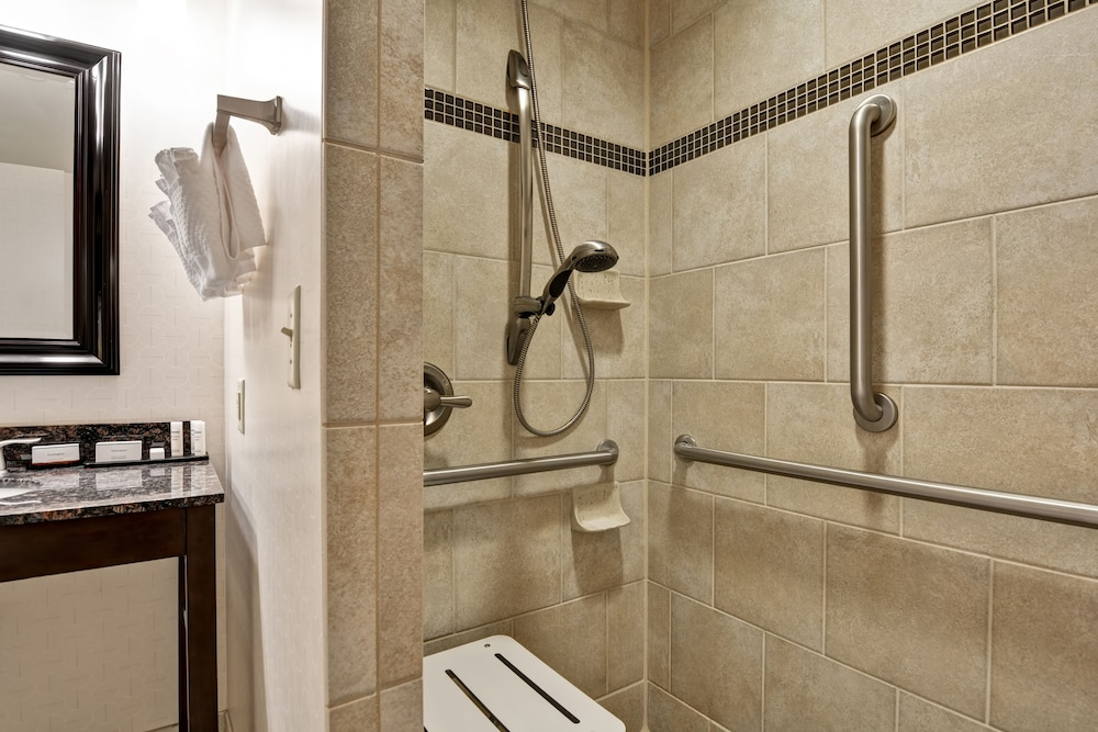 Bathroom Shower, Embassy Suites Raleigh-Durham Airport/Brier Creek