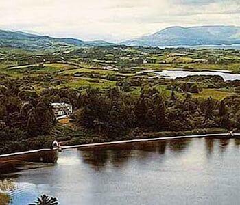 Oughterard, Connemara, County Galway, Ireland.
