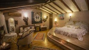 埃及棉床單、高級寢具、迷你吧贈品、保險箱