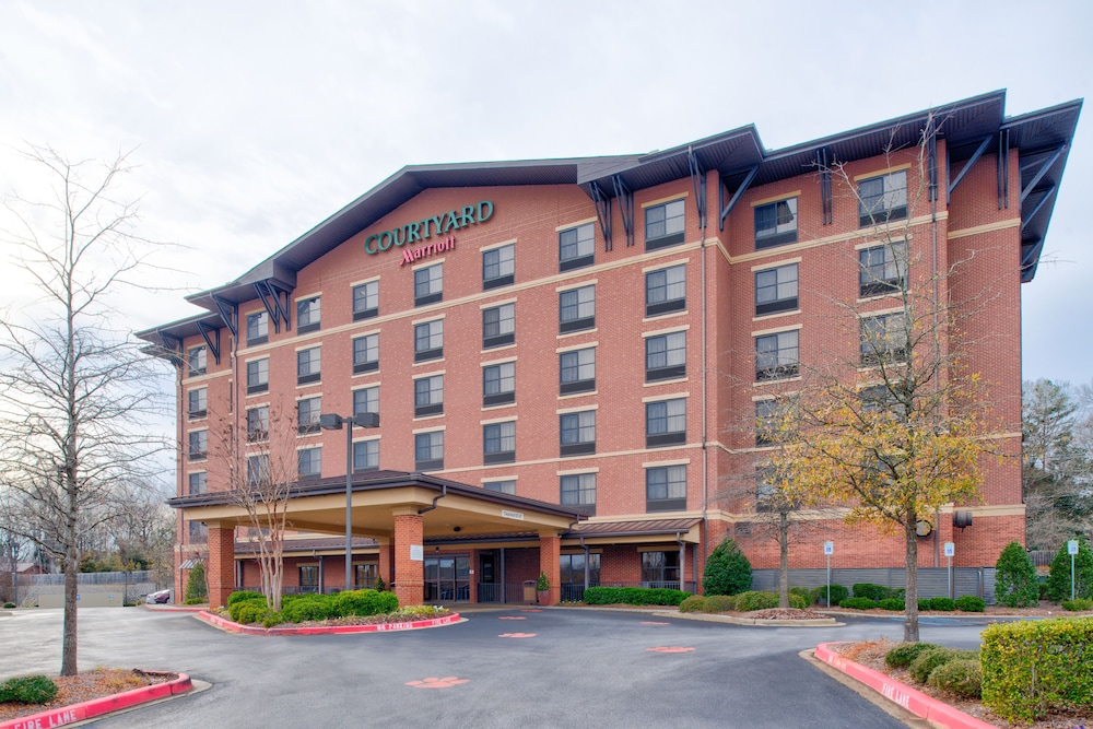 Exterior, Courtyard Marriott Clemson