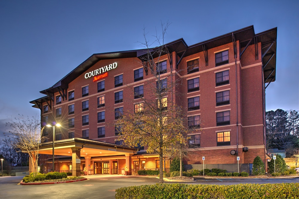 Front of Property - Evening/Night, Courtyard Marriott Clemson