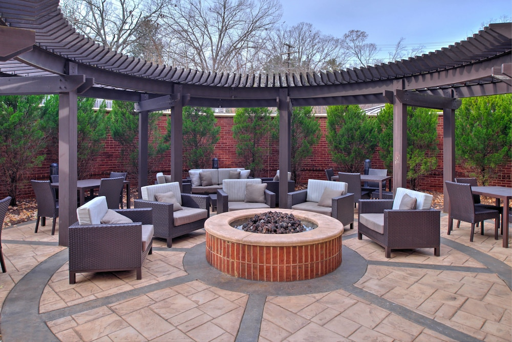 Terrace/Patio, Courtyard Marriott Clemson
