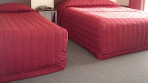 Pillow-top beds, desk, soundproofing, iron/ironing board