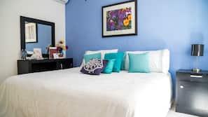 Individually furnished, iron/ironing board, linens