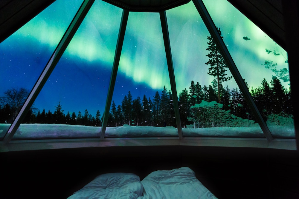 View from Room, Levi Northern Lights Huts