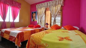 Minibar, Zimmersafe, Bettwäsche
