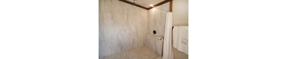 Bathroom Shower, The Lodge Above Town Creek