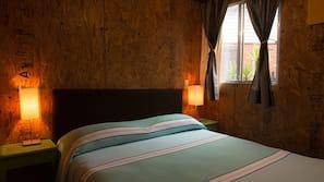 1 dormitorio, decoración individual, mobiliario individual y escritorio