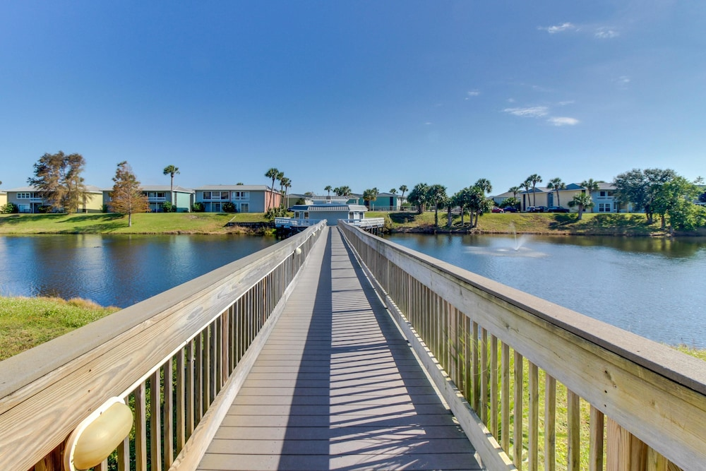 Dock, Gulf Terrace Condominiums