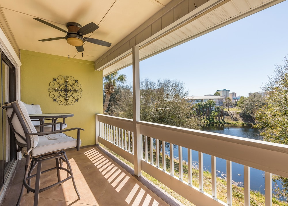 Balcony, Gulf Terrace Condominiums