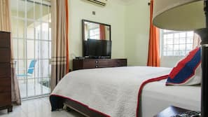 2 間臥室、特厚豪華床墊、熨斗/熨衫板、免費 Wi-Fi