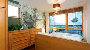 2 ห้องนอน, เตารีด/โต๊ะรีดผ้า, Wi-Fi ฟรี, ผ้าปูที่นอน