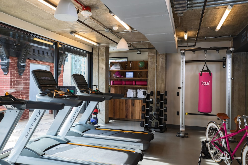 Fitness Facility, Moxy Washington, DC Downtown