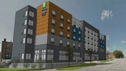 Check Expedia for Availability of Holiday Inn Express And Suites Omaha Downtown - Airport