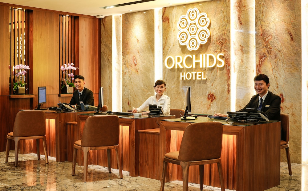 Reception, Orchids Saigon Hotel