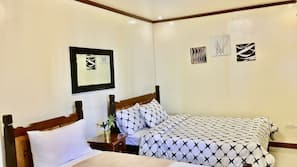 Down comforters, free minibar items, blackout drapes, free WiFi