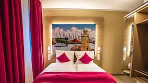 14 bedrooms, premium bedding, in-room safe, individually decorated