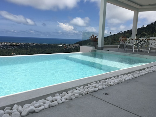 New Villa Melissa 5BR Infinity Pool Panoramic Sea View