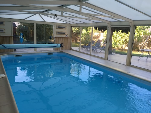 Cottage With Indoor Pool Heated to 30 Degrees and Fitness Room