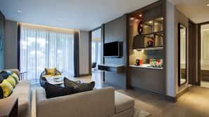 Televisi LED 49-inci dengan saluran TV kabel dan TV
