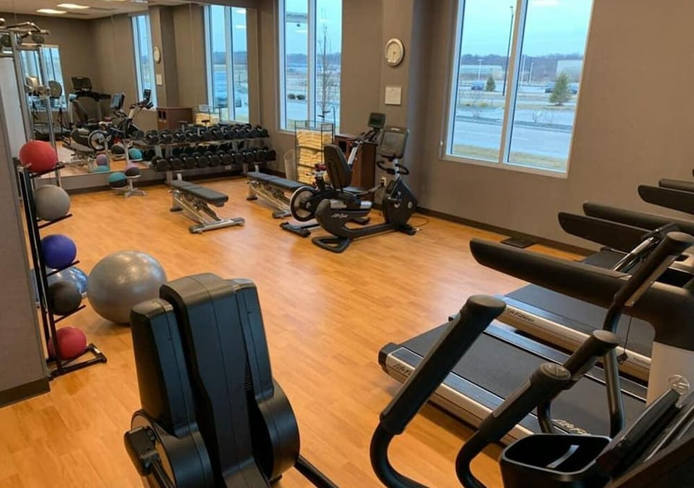 Gym, Hyatt Place East Moline Quad Cities