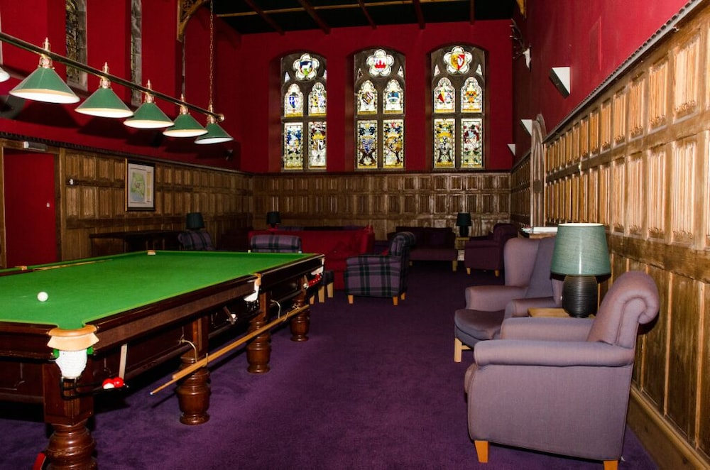 Game Room, Spectacular, Romantic Accommodation in an Abbey at the Shores of Loch Ness!