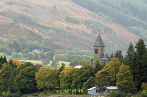 Exterior, Spectacular, Romantic Accommodation in an Abbey at the Shores of Loch Ness!