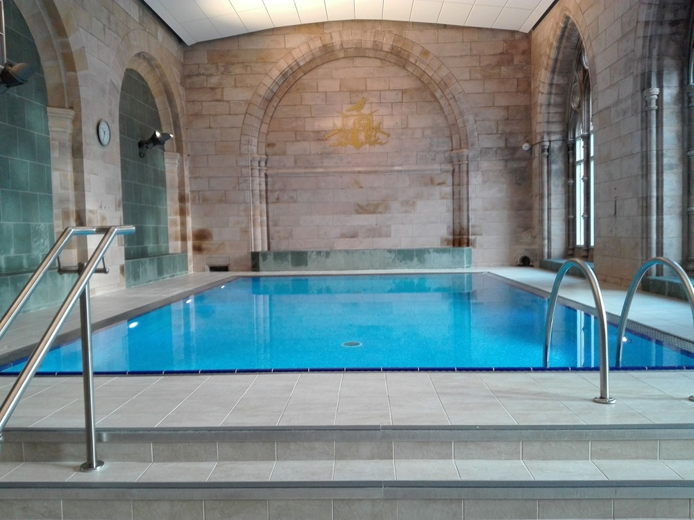 Pool, Spectacular, Romantic Accommodation in an Abbey at the Shores of Loch Ness!