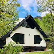 Chalet in a Magnificent Mountain Landscape in the Middle of Triglav National Park