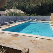 Gite the Olive Trees With Swimming Pool in the Heart of the Valley of the Ceze Entirely new