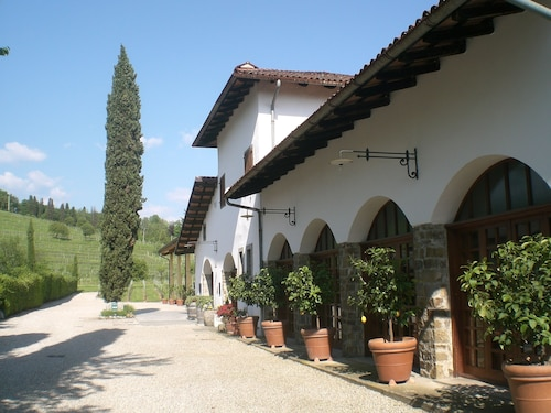 Wonderful Area in the Middle of the Vineyards Where you can Relax and Taste Wine