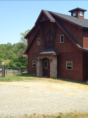 Great Place to stay Charming Barn Loft on Horse Farm - Pet Friendly! near Knoxville