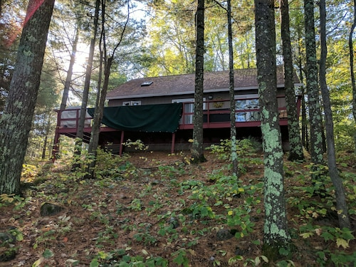 Perfect Cabin Getaway Year Round! Nestled in Woods on Serene Lake. Licensed!