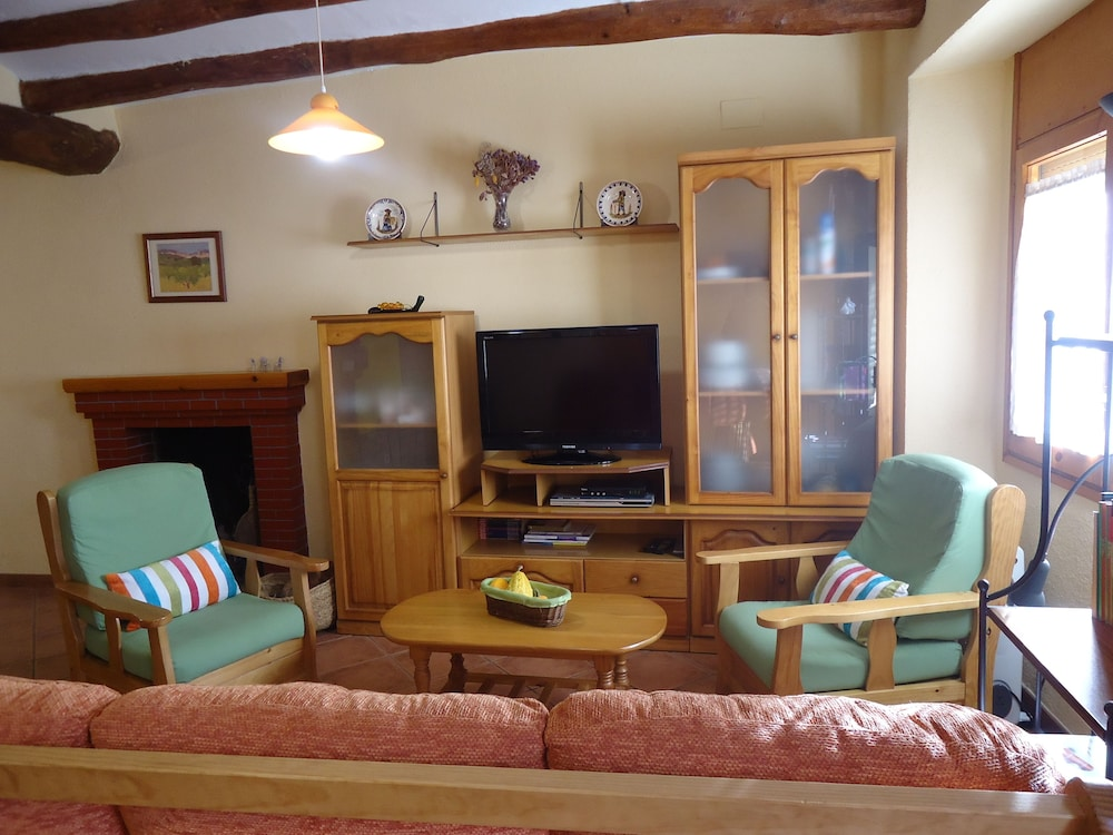 Living Area, Casa Rural Cal Drac