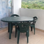 Apartment With 2 Bedrooms in Saint Joseph, With Wonderful Mountain View and Furnished Terrace - 20 km From the Beach