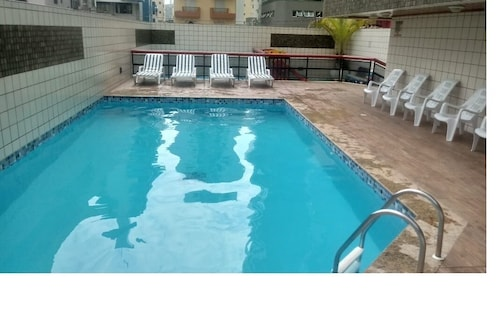 Beautiful and Comfortable Apt, With Pool and Barbecue, 3 Bedrooms, 3 Toilets, 2 Places
