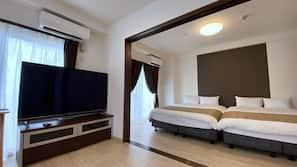 窗簾、隔音、熨斗/熨衫板、免費 Wi-Fi