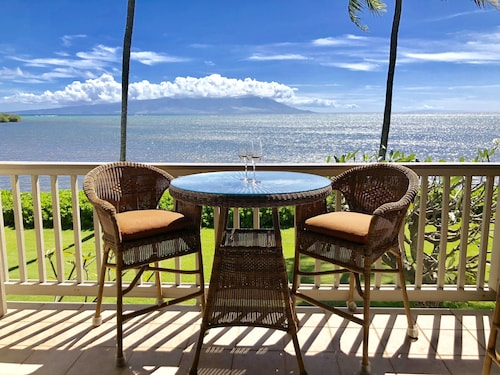 Oceanfront Vacation Condo on Molokai, the Friendly Isle. Wavecrest A Building