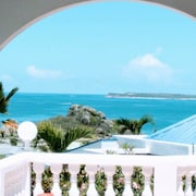 Villa With 3 Bedrooms in ST Martin, With Wonderful sea View, Private Pool, Enclosed Garden - 500 m From the Beach